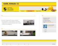 Website BVVK Bau- und Vermögensverwaltung Kamberger