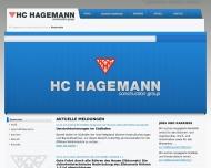 Bild Webseite Hagemann H. C. Hamburg