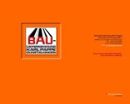 Bild Webseite Karl Pappe Bauunternehmung Dischingen