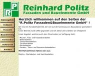 Bild Reinhard Politz Fassaden- und Bauelemente GmbH