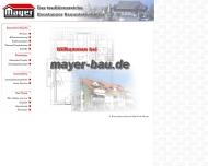 Bild Webseite Mayer Manfred Bauunternehmen Konstanz