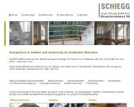 Website Schiegg Bauunternehmen