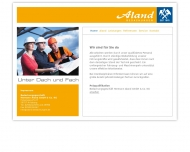 Bild Webseite Bedachungsgeschäft Hermann Aland Verwaltungs Arnsberg