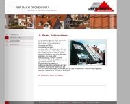 Website Dachdeckerei Jarasinsky Gesellschaft