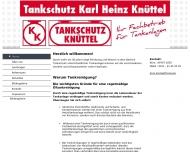Website Tankschutz Knüttel