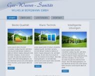Website Bergmann Wilhelm