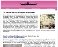 Website Mühlhäuser