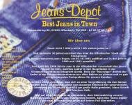 Website Jeans Depot Textilhandels