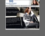 Bild Webseite Britta Beyss Modehaus Alsdorf