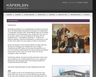 Website Modehaus Käferlein