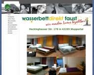 Bild Wasserbettendirekt Faust Vertrieb u. Wasserbetten GbR Gabriele