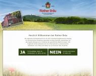 Website Rother Bräu Exportbierbrauerei Roth Ida Schneider