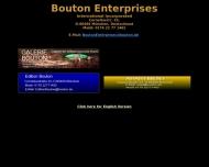 Bild Webseite Galerie Bouton München