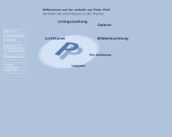 Bild Webseite Pich Peter München