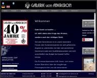 Bild Webseite Abercron von München