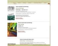 Bild Webseite Galerie von Braunbehrens München