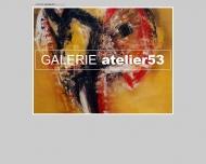 Website Galerie Atelier53