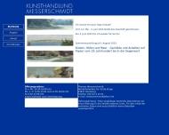 Bild Webseite Kunsthandlung Messerschmidt Flensburg