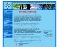 Bild Webseite Ferienpark Birnbaumteich Harzgerode