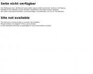 nicht verf?gbar Site not available