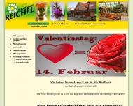 Website Blumen Blumenhof-Reichel
