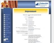 Website Harald Gaberdiel Raumausstattung e.K