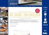 Bild Webseite Ten Eikelder Köln