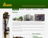 Bild Webseite Schubert Brunnenbau Magdeburg