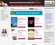 Bild Universitätsbuchhandlung Bremen Zweigniederlassung der Carl-von-Ossietzky-Buchhandlung GmbH