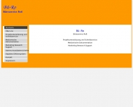 Bild Webseite Büroservice Roß Schreibbüro Nürnberg