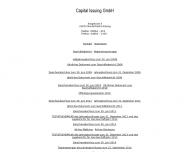 Bild Webseite Capital Issuing 2010 Norder-Friedrichs-Koog