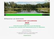 Bild Webseite Campingplatz Kellerwiehl Tangerhütte