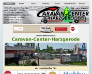 Bild Webseite Caravan-Center inh. Brit Bienek Harzgerode
