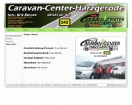 Website Caravan-Center inh. Brit Bienek