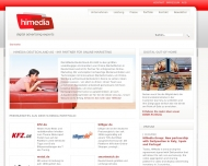 Bild Webseite HiMedia Deutschland Düsseldorf