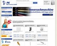 Bild Webseite PK Büro Service München