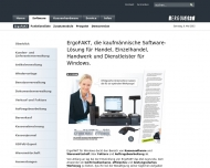 Website ERGO SOFT Softwareentwicklung