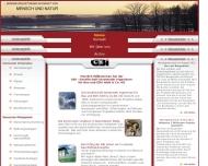 Website GBI Gesellschaft beratender Ing. für Bau und EDV