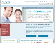 Bild Webseite cobra computer's brainware Konstanz