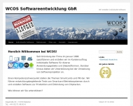 WCOS Softwareentwicklung GbR Wir erstellen individuelle Software