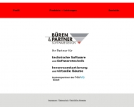 Bild Webseite Büren & Partner Software-Design Nürnberg