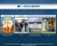 Bild Webseite Caligari Film- und Fernsehproduktions München