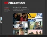 Bild Webseite R.E.M. Rapid Eye Movement Film und Fernsehproduktions München