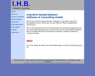 Website I.H.B. Software & Consulting