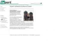 Bild Webseite ix/pert Software-Systeme München