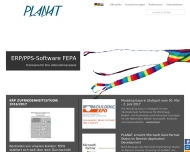 PLANAT consulting software service - Startseite
