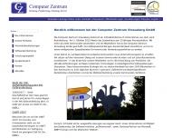 Bild Webseite  Strausberg