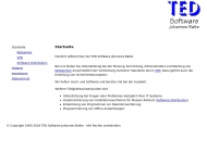 Bild TED-Software