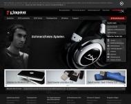 Bild Webseite Kingston Technology Deutschland München