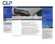 Bild Webseite CLP Computer Logistik Planung München